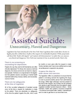 reasons to oppose assisted suicide